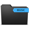96x96px size png icon of ribbonmusic