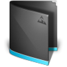 96x96px size png icon of Antares Folder Black