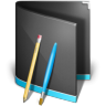 96x96px size png icon of Applications Folder Black