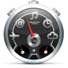 96x96px size png icon of Dashboard Black