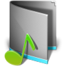 96x96px size png icon of Music Folder Alt