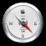 96x96px size png icon of Safari White