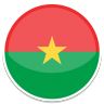 96x96px size png icon of Burkina faso