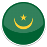 96x96px size png icon of Mauritania