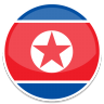 96x96px size png icon of North korea