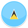 96x96px size png icon of Saint lucia