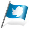 96x96px size png icon of Antarctica Flag 3