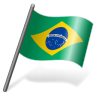 96x96px size png icon of Brazil Flag 3