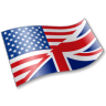 96x96px size png icon of English Language Flag 2
