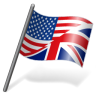 96x96px size png icon of English Language Flag 3