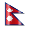 96x96px size png icon of Nepal Flag 1