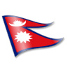 96x96px size png icon of Nepal Flag 2