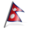 96x96px size png icon of Nepal Flag 3