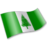 96x96px size png icon of Norfolk Island Flag 2