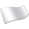 96x96px size png icon of Solid Color White Flag 2
