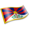 96x96px size png icon of Tibetan People Flag 2