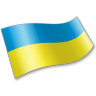 96x96px size png icon of Ukraine Flag 2