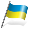 96x96px size png icon of Ukraine Flag 3