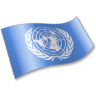 96x96px size png icon of United Nations Flag 2