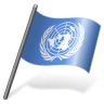 96x96px size png icon of United Nations Flag 3