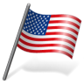 96x96px size png icon of United States Flag 3