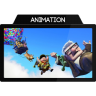 96x96px size png icon of Animation