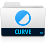 96x96px size png icon of curve folder