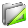 96x96px size png icon of Applications Metal Folder