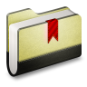 96x96px size png icon of Bookmark Folder