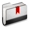 96x96px size png icon of Bookmark Metal Folder