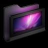 96x96px size png icon of Desktop Black Folder