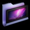 96x96px size png icon of Desktop Blue Folder