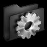 96x96px size png icon of Developer Black Folder