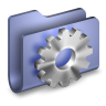 96x96px size png icon of Developer Blue Folder