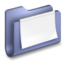 96x96px size png icon of Documents Blue Folder