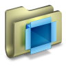 96x96px size png icon of Dropbox Folder