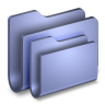 96x96px size png icon of Folders Blue Folder