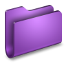 96x96px size png icon of Generic Purple Folder