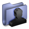 96x96px size png icon of Group Blue Folder