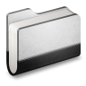 96x96px size png icon of Llibrary Metal Folder