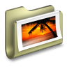 96x96px size png icon of Photos Folder