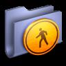 96x96px size png icon of Public Blue Folder