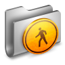 96x96px size png icon of Public Metal Folder