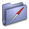 96x96px size png icon of Sites Blue Folder