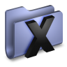 96x96px size png icon of System Blue Folder