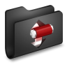 96x96px size png icon of Torrents Black Folder