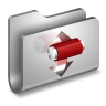 96x96px size png icon of Torrents Metal Folder