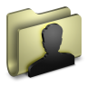 96x96px size png icon of User Folder
