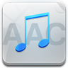 96x96px size png icon of aac