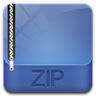 96x96px size png icon of archive zip
